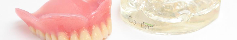 「コンフォート」をはじめとした、患者さまに合った入れ歯を提案